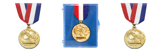 Q6721 Medal with Neck Drape (2 inch)