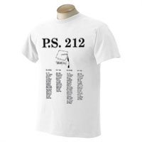 White T-Shirt with 1-Color Front Imprint