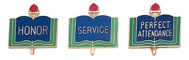 Scholastic Award Pins