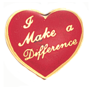 Make A Difference Pins