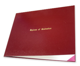 Autograph Album and Diploma Case