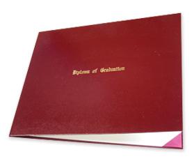Autograph Album and Diploma Case