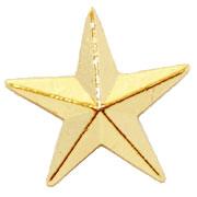 """1/2"""" Star Pins"""