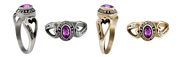 HEARTSONG Fashion Ring w/o Cubic Zirconia