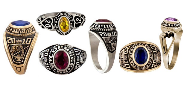 balfour students rings hs high school icon